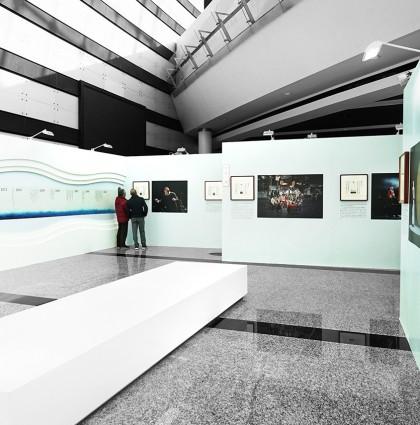 舞勺之年篆刻艺术展展厅