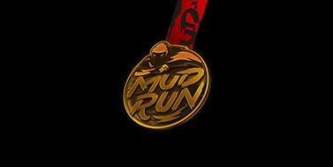 mun run 泥泞跑 奖牌设计