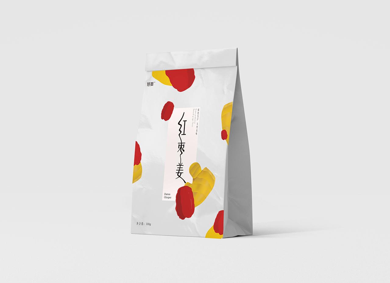 红枣姜纸盒立